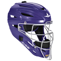 All Star System 7 MVP Catcher's Head Gear - Purple / Purple