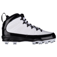 Jordan Retro IX MCS - Men's - All White / White