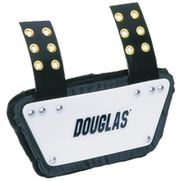 Douglas JP Back Plate - Boys' Grade School - White / Black