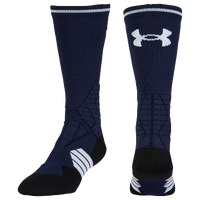Under Armour Football Crew Socks - Men's - Navy / White