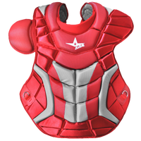All Star System 7 Ultra Cool Chest Protector - Men's - Red / Grey