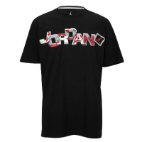 Jordan Retro 6 Go 23 RMX T-Shirt - Men's - Black / Red