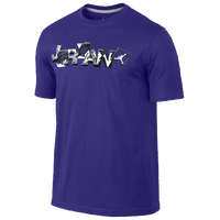 Jordan Retro 6 Go 23 RMX T-Shirt - Men's - Purple / White
