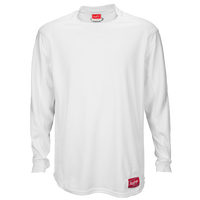 Rawlings Dugout Fleece Pullover - Men's - All White / White