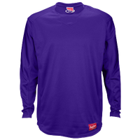 Rawlings Dugout Fleece Pullover - Men's - Purple / Purple
