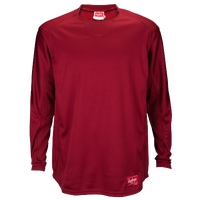 Rawlings Dugout Fleece Pullover - Men's - Cardinal / Cardinal