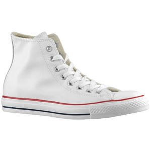 Converse All Star Leather Hi - Men's - Optical White