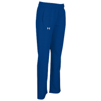 Under Armour Team Hustle Fleece Pants - Women's - Blue / Blue