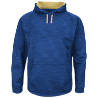 Majestic Therma Base Hooded Streak Fleece - Men's - Blue / Yellow