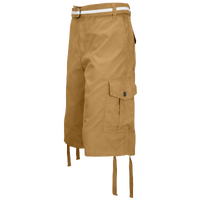 Southpole Belted Ripstop Cargo Shorts - Men's - Tan / Tan
