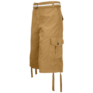 Southpole Belted Ripstop Cargo Shorts - Men's - Wheat
