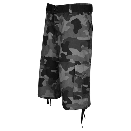 Mens Camo Shorts. Add instant cool to any casual outfit with a pair of men's camo shorts. This laid-back print offers the perfect balance between rough and relaxed.