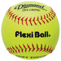 Diamond FlexiBall Fastpitch Softballs - Women's - Yellow / Red