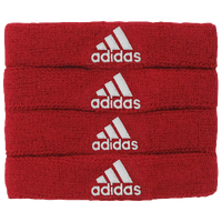adidas Interval 3/4-inch Bicep Bands - Red / White