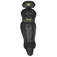Wilson Guardian Umpire Leg Guards - Adult - Black / Yellow