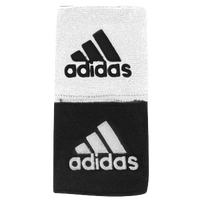 "adidas Interval 3"" Reversible Wristbands - Black / White"
