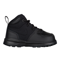 Nike ACG Manoa Leather - Boys' Toddler - All Black / Black