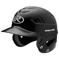 Rawlings Coolflo T-Ball Batting Helmet - Youth - Black / White