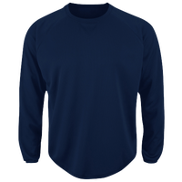 Majestic Premier Home Plate Tech Fleece - Men's - Navy / Navy