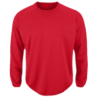 Majestic Premier Home Plate Tech Fleece - Men's - Red / Red