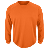 Majestic Premier Home Plate Tech Fleece - Men's - Orange / Orange