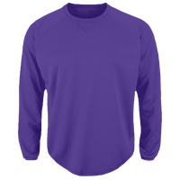 Majestic Premier Home Plate Tech Fleece - Men's - Purple / Purple