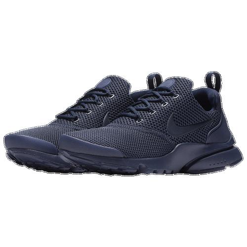 7ebb985c303e well-wreapped Nike Presto Fly Boys Grade School Running Shoes Midnight Navy  White Midnight Navy