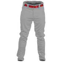 Rawlings Premium Straight Fit Pants - Men's - Grey / Red