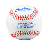 Rawlings Official League Baseball RNFC - White / Red