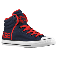 Converse All Star Swag Hi - Men's - Navy / Red