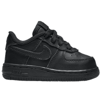 Nike Air Force 1 Low - Boys' Toddler - All Black / Black