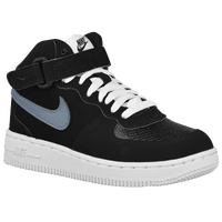 Nike Air Force 1 Mid - Boys' Preschool - Black / Grey