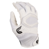 Cutters Rev Pro 2.0 Solid Receiver Gloves - Men's - White / Black