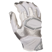 Cutters Rev Pro 2.0 Receiver Gloves - Men's - White / Silver