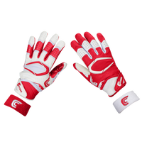 Cutters Rev Pro 2.0 Ying Yang Receiver Gloves - Men's - Red / White