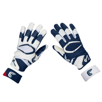 Cutters Rev Pro 2.0 Ying Yang Receiver Gloves - Men's - Navy / White