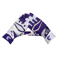 Cutters Rev Pro 2.0 Ying Yang Receiver Gloves - Men's - Purple / White
