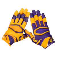 Cutters Rev Pro 2.0 Ying Yang Receiver Gloves - Men's - Purple / Gold