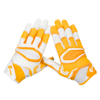 Cutters Rev Pro 2.0 Ying Yang Receiver Gloves - Men's - Gold / White