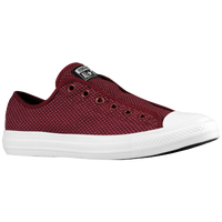 Converse All Star Ox Woven Slip On - Women's - Maroon / White