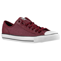 Converse CT All Star Overlay Ox Woven - Men's - Maroon / White
