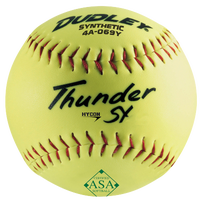"Dudley ASA 12"" Thunder Hycon Slowpitch Softball"