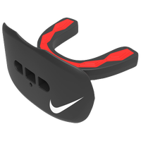 Nike Hyperflow Lip Protector Mouthguard - Adult - Black / Red