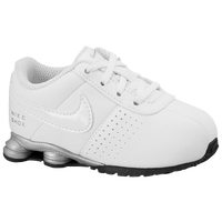 Nike Shox Deliver - Boys' Toddler - White / Silver