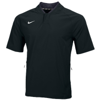 Nike Team Hot Jacket - Men's - All Black / Black