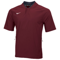 Nike Team Hot Jacket - Men's - Maroon / Maroon