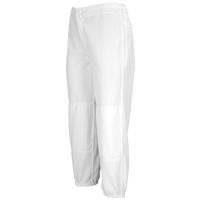Mizuno Select Non-Belted Fastpitch Pant - Women's - All White / White