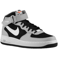 Nike Air Force 1 Mid - Men's - Black / White