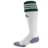 adidas Team Copa Zone Cushion II Socks - Men's - White / Dark Green