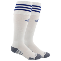 adidas Team Copa Zone Cushion III Socks - Men's - White / Blue